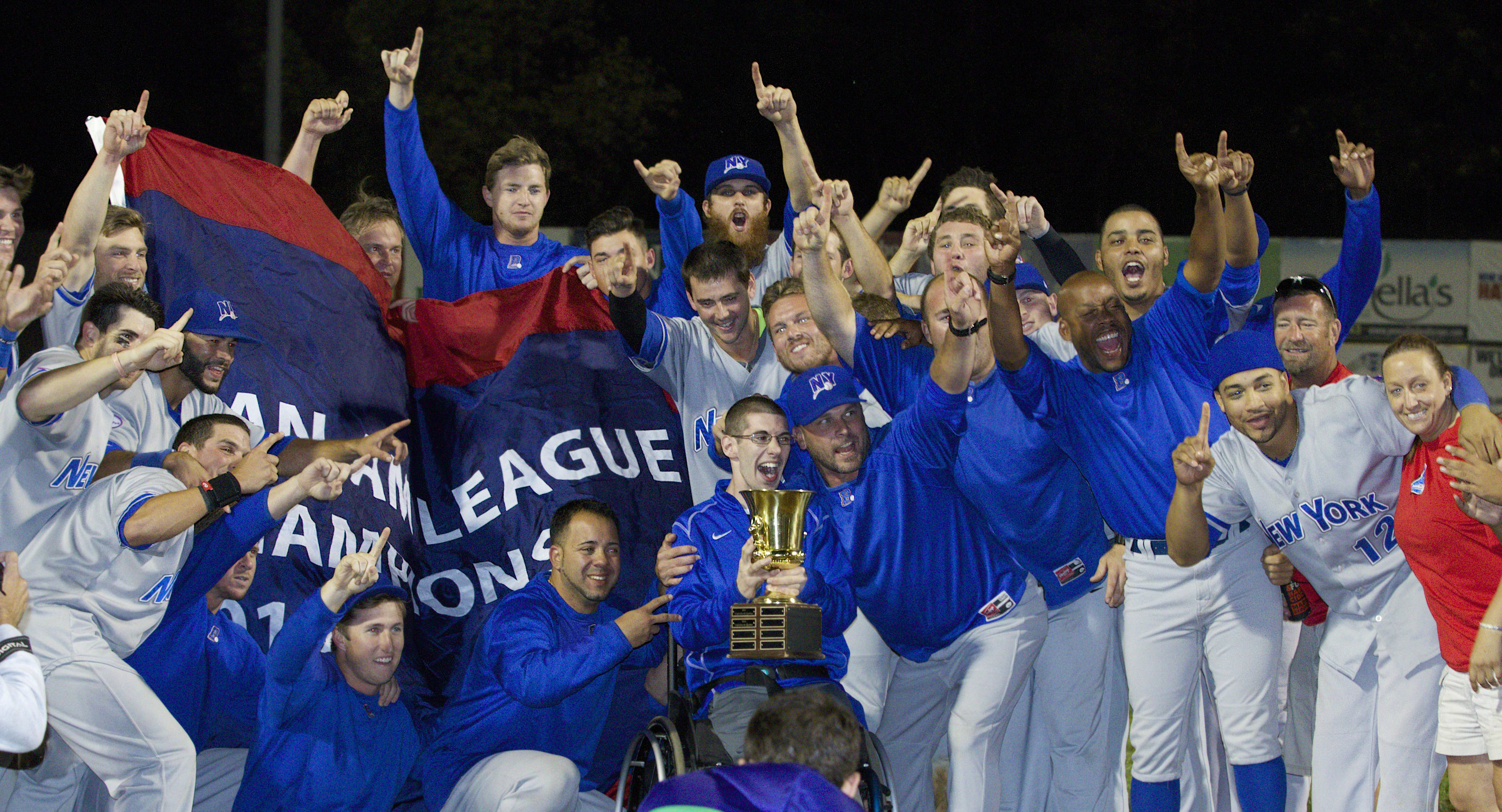 CHAMPS! Boulders Roll to First Can Am League Title